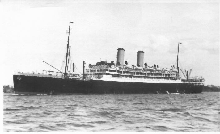1925 passenger liner.