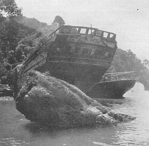 1853 Barque wrecked