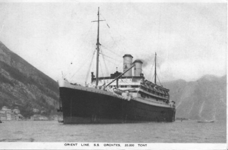 1929 passenger liner.