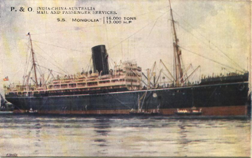 1923 passenger liner.