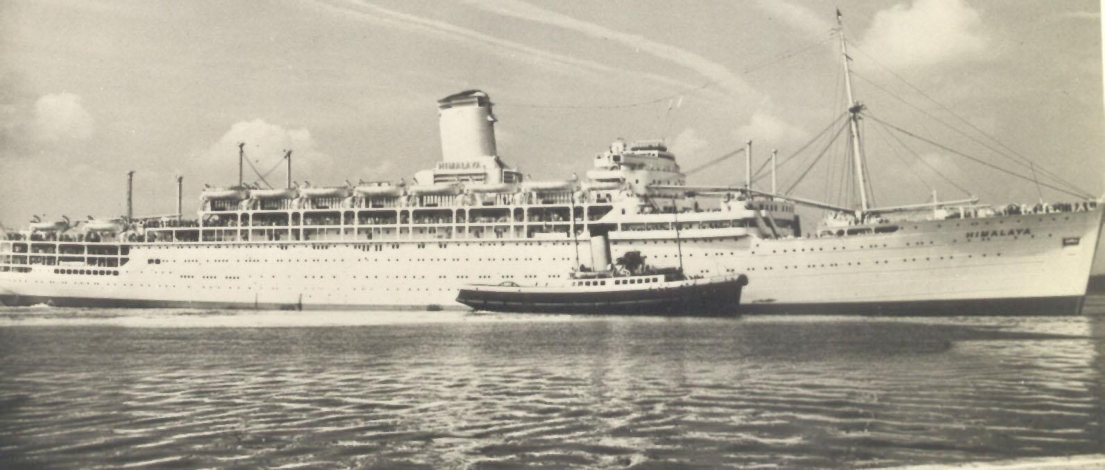 Built by Vickers-Armstrong Ltd, Barrow-In-Furness, England.  Launched on 5 October 1948 by Lady Currie and completed in August 1949.  The vessel made her inaugural voyage on 6 October 1949 from London - Sydney.  Base Port:  London Gross Tonnage:  27989