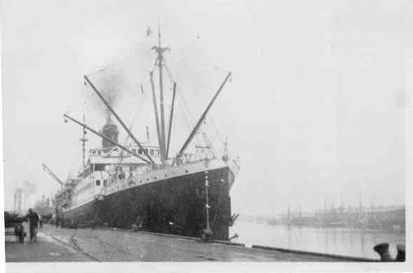 1913 passenger vessel.