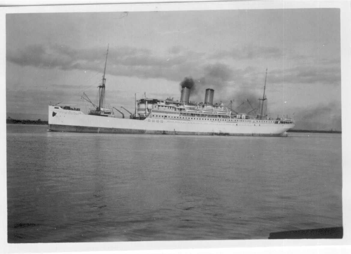 1928 passenger vessel, 12/7/1934.