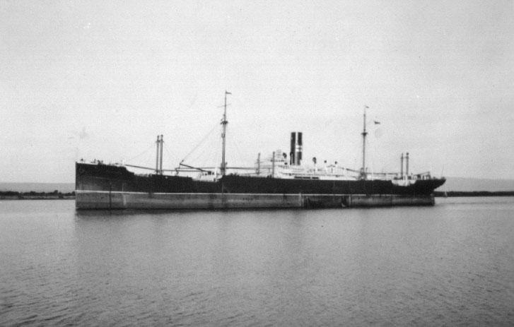1920 refrigerated crago vessel.