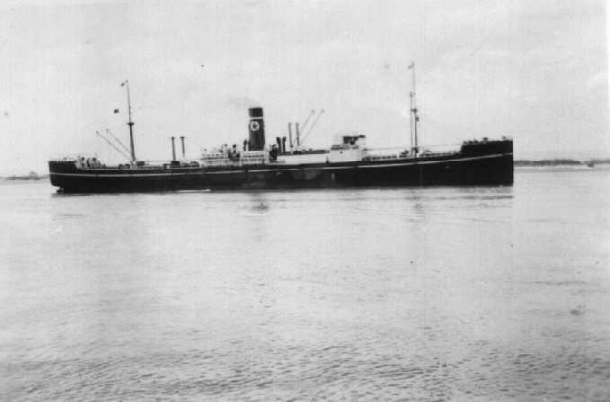 Refrigerated Cargo vessel bult in 1919.