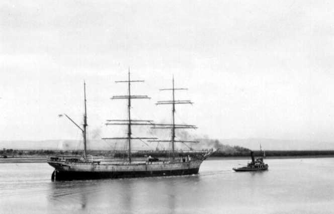 """""""Penang"""", Ex 'Albert Rickmers',  Built in 1905.This image shows vessel under tow, 21/1/1931."""