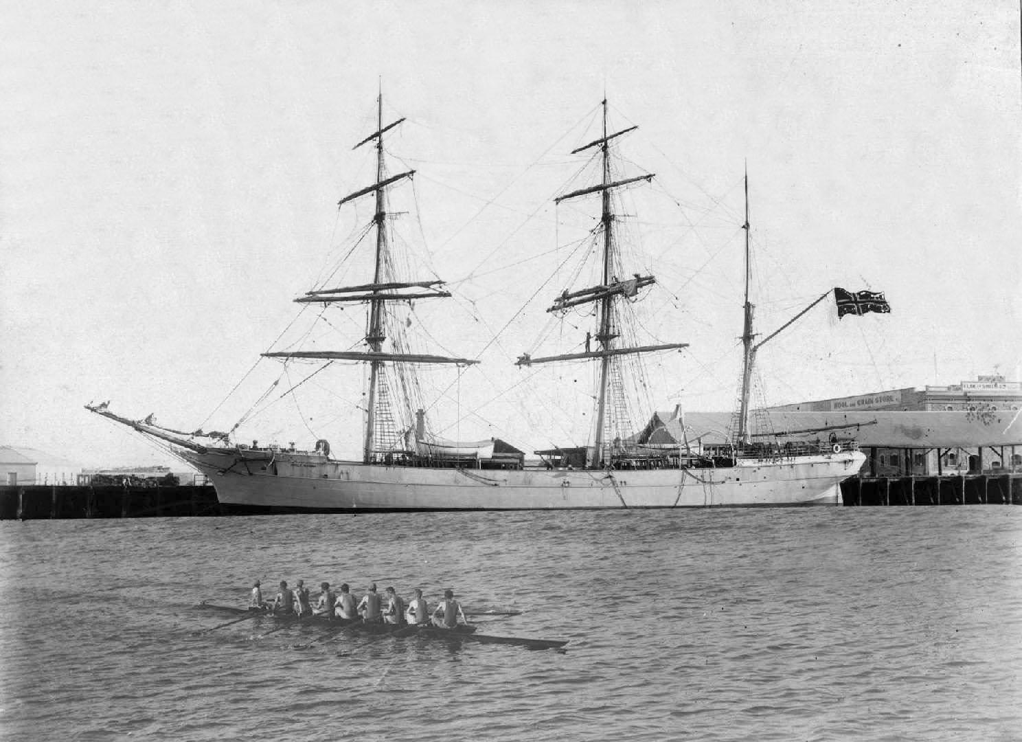 Barque built in 1876.