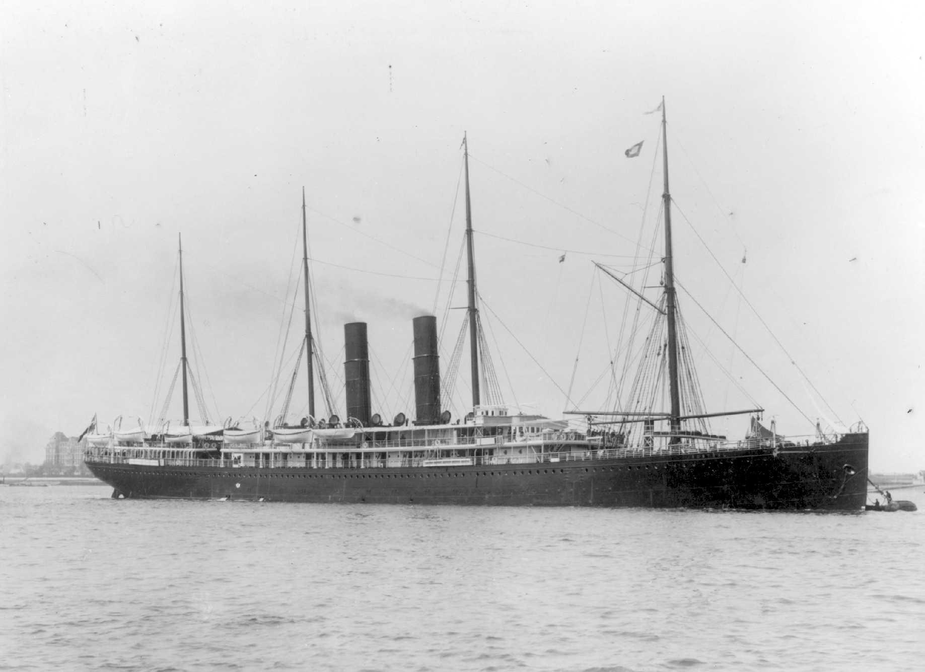 Passenger vessel.