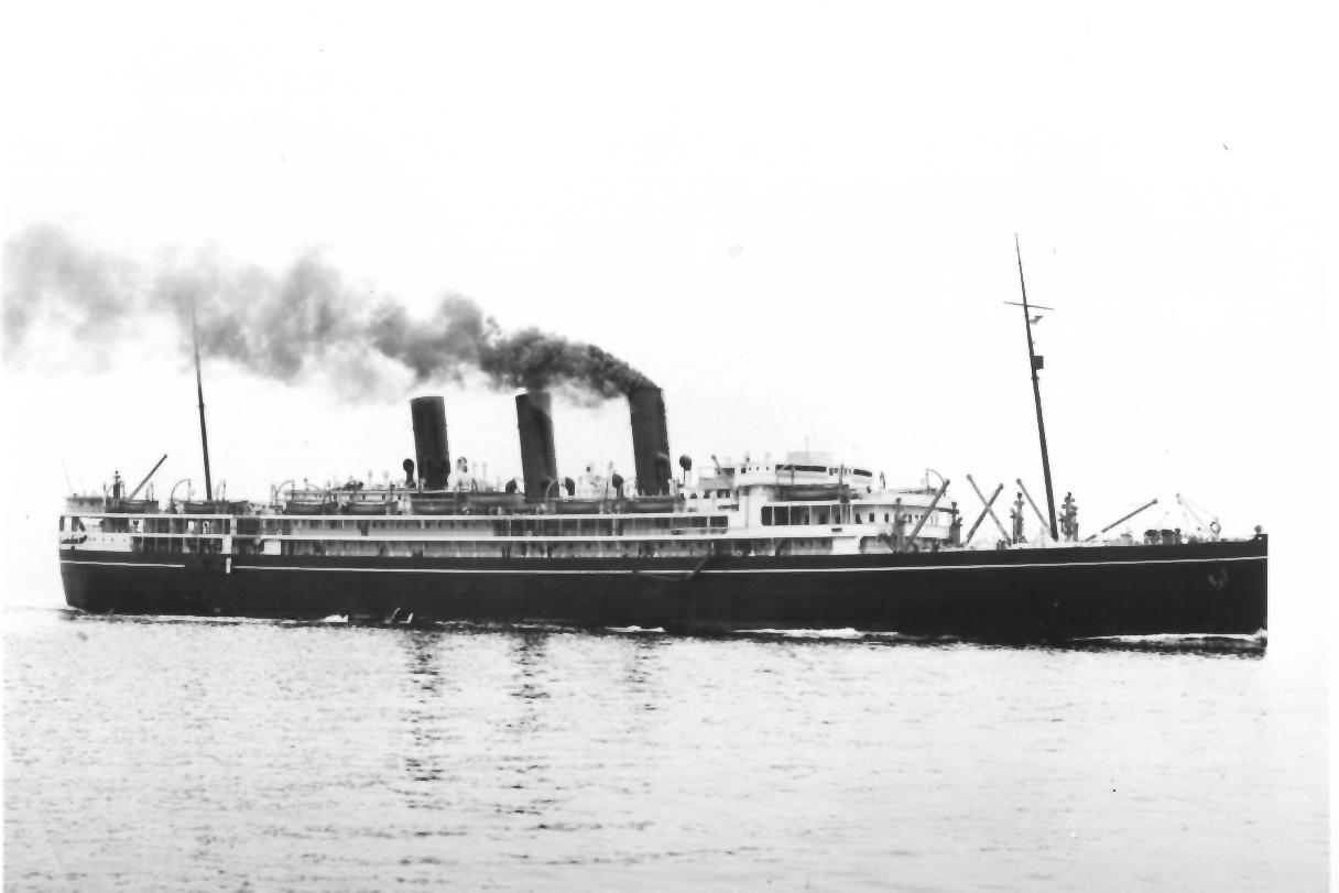 1918 passenger vessel.