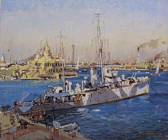 At Port Said 1941.
