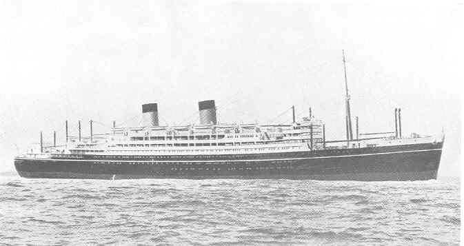 Passenger vessel - model