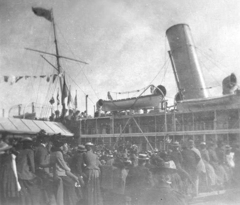 At Port Adelaide, 1901.