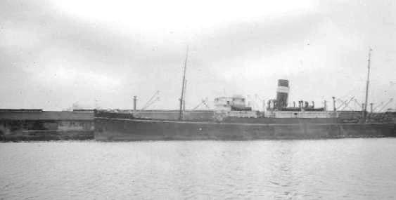 1919 general cargo vessel berthed