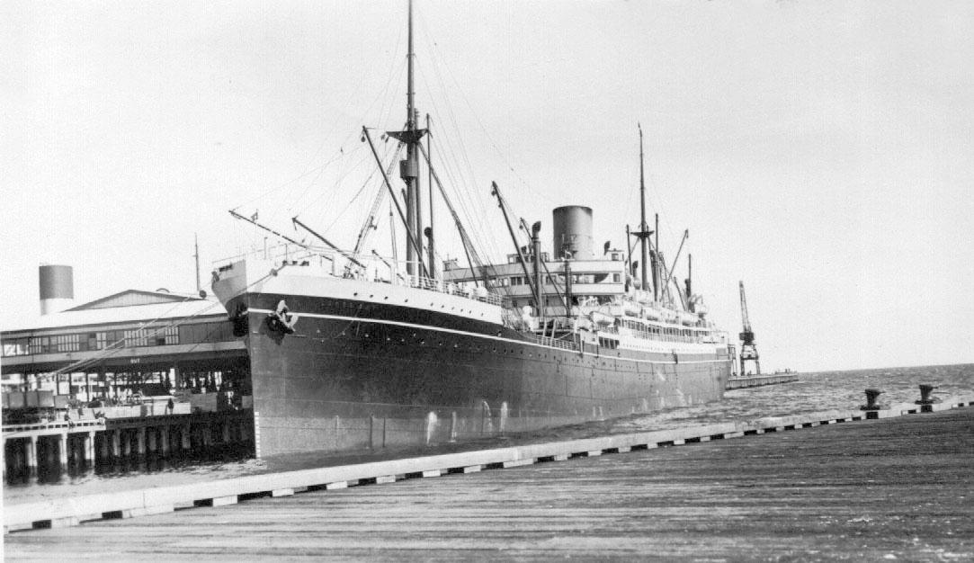 1921 passenger vessel.