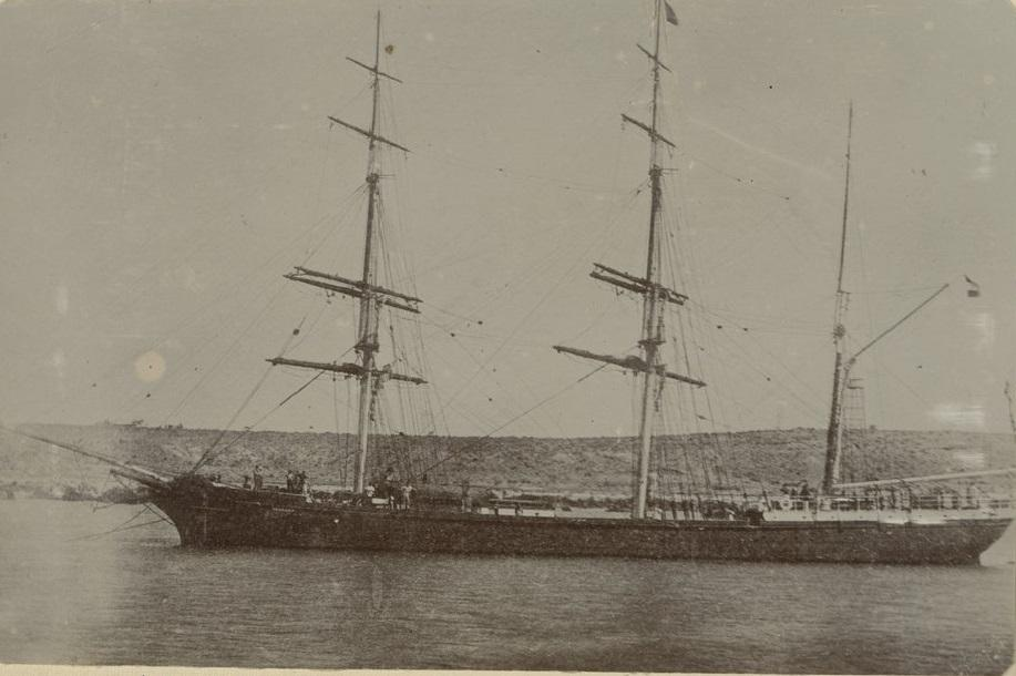 Three masted barque.