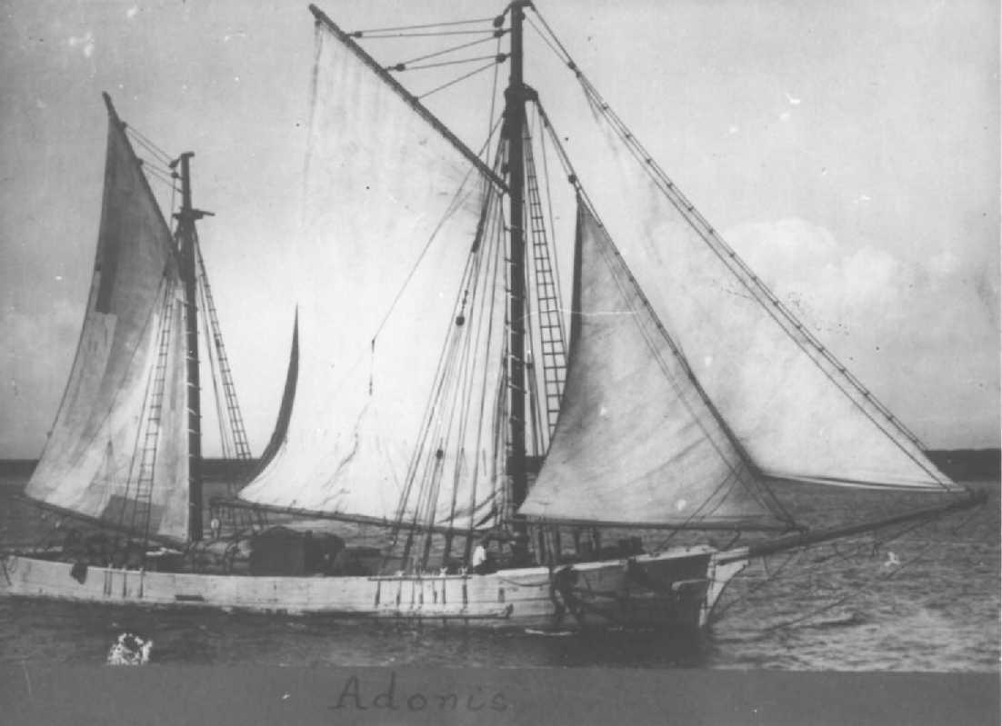 Ketch built in 1864 in Franklin, Tasmania.