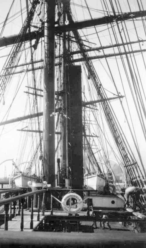 Berthed at Corporation Wharf in 1929.