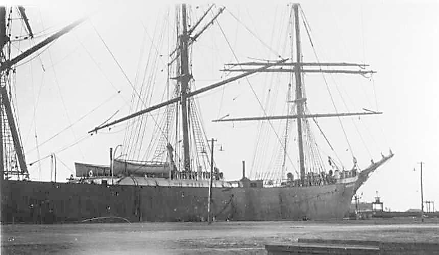 At Port Adelaide in January 1928.