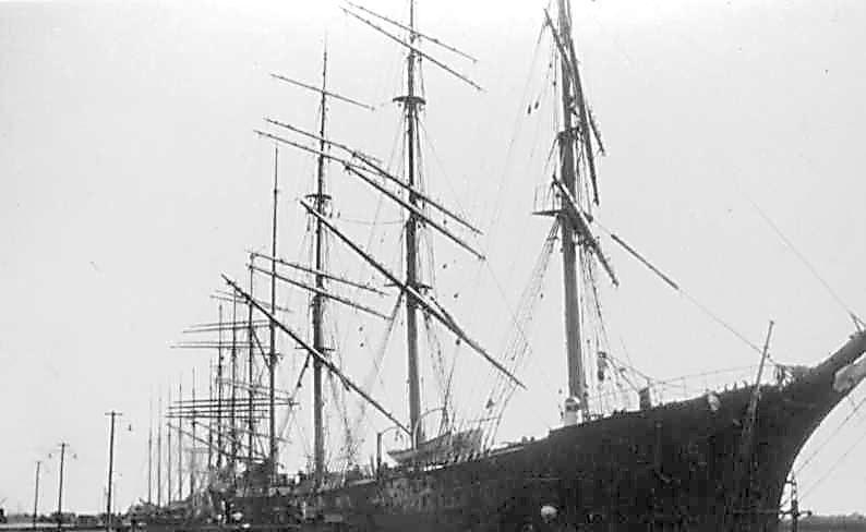 At Port Adelaide, 1928.