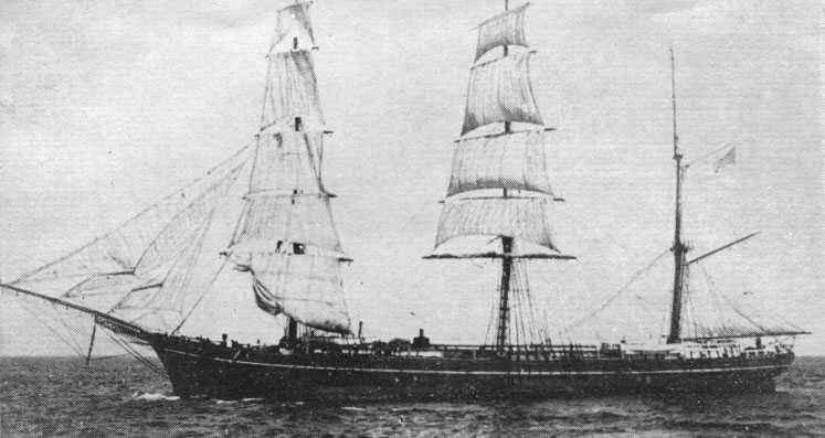 "1876 Ship - another Yankee ""Hell-Ship"" at sea"