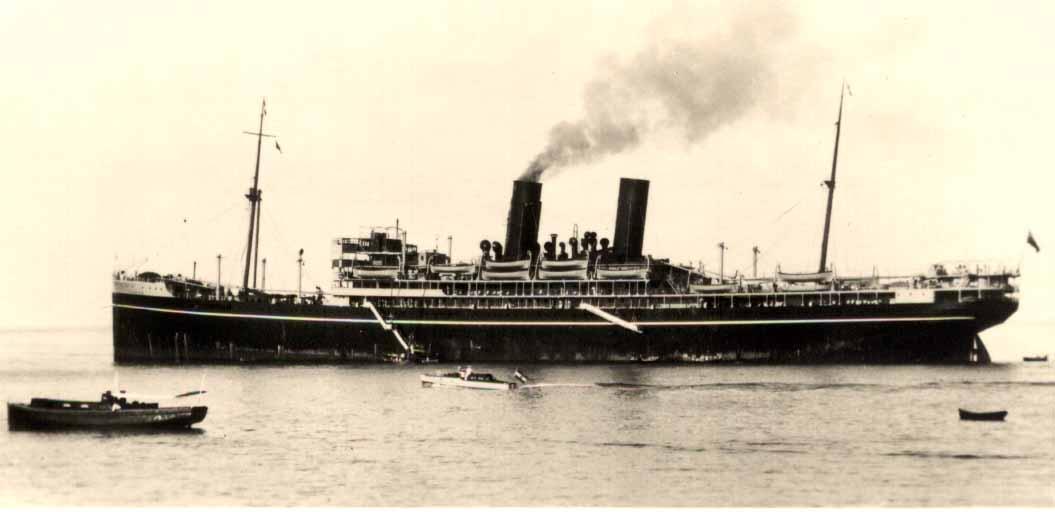 1922 passenger vessel.