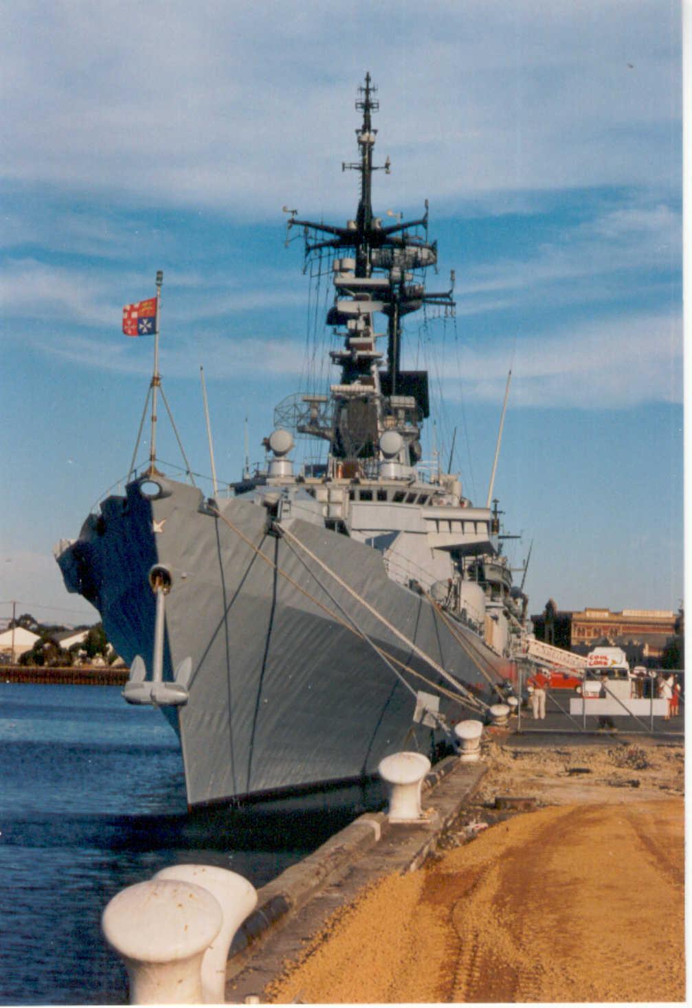 At Port Adelaide berth during 1997 visit.