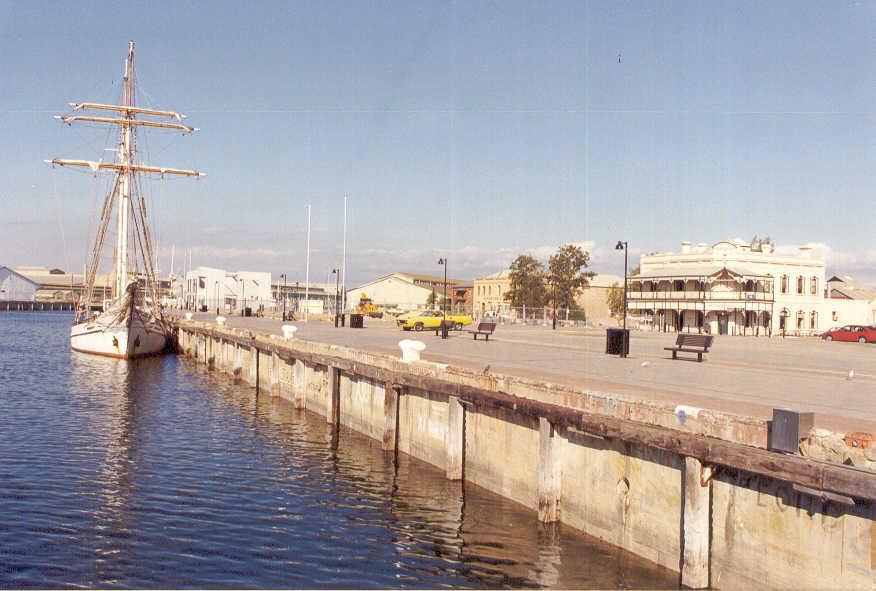 In No. 1 Dock, Port Adelaide