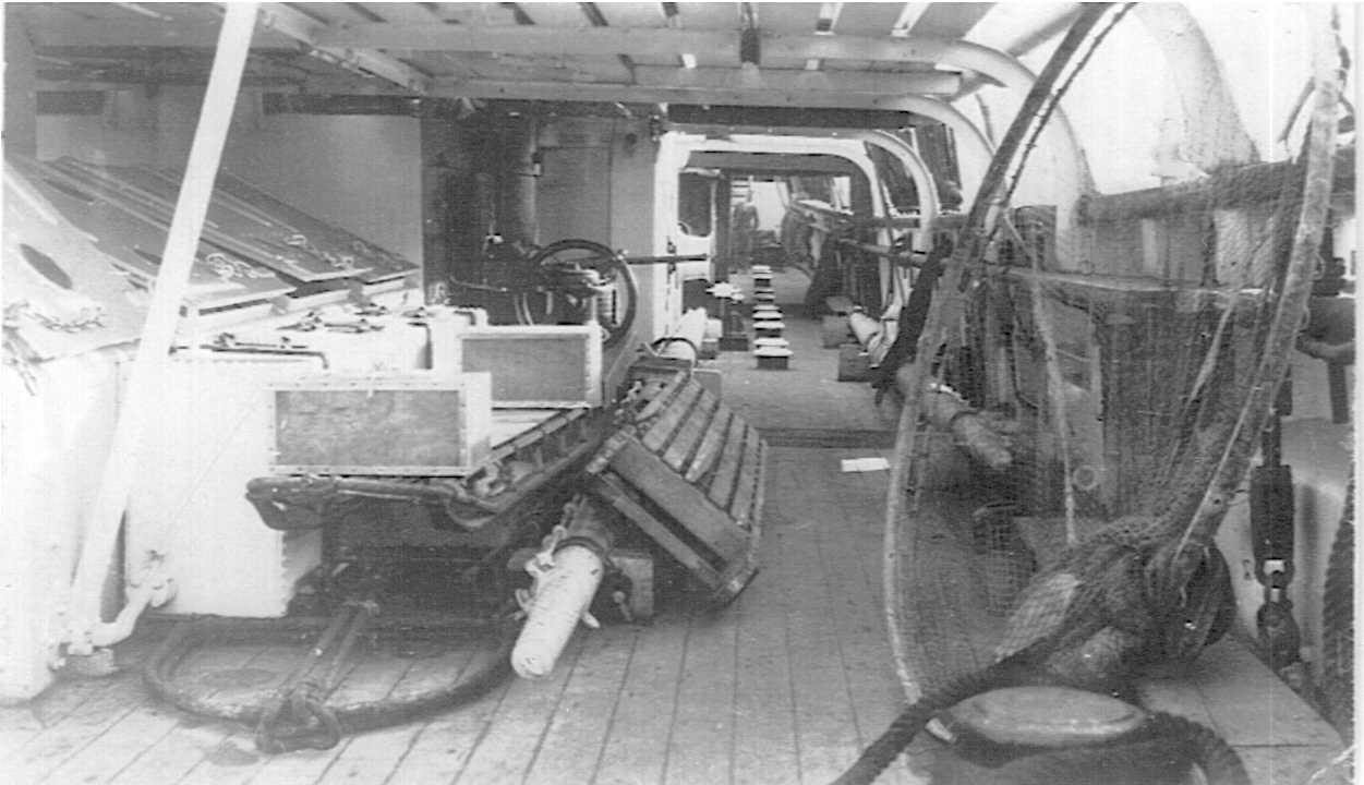 On board the Discovery 8 April 1931
