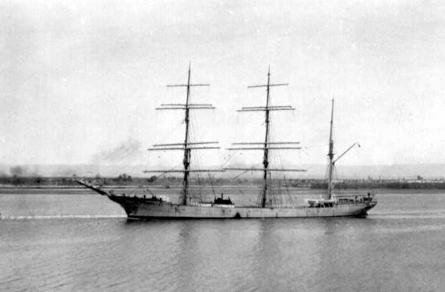 """""""Penang"""", Ex 'Albert Rickmers',  Built in 1905.This image shows vessel under tow, 4/2/1931."""