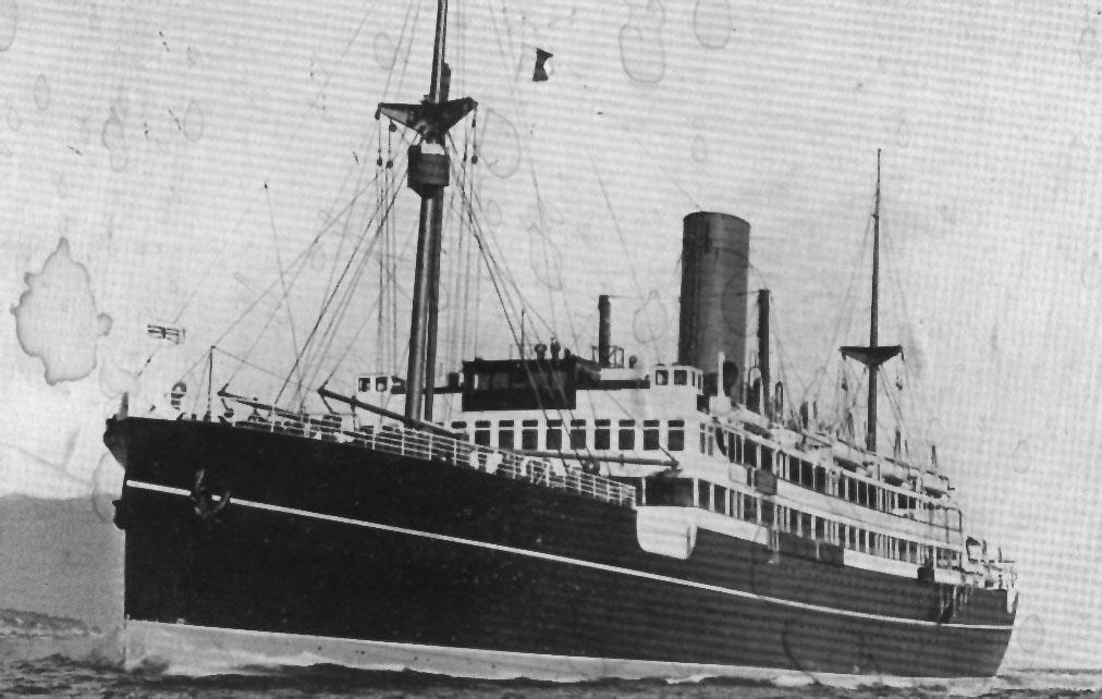 1929 vessel.