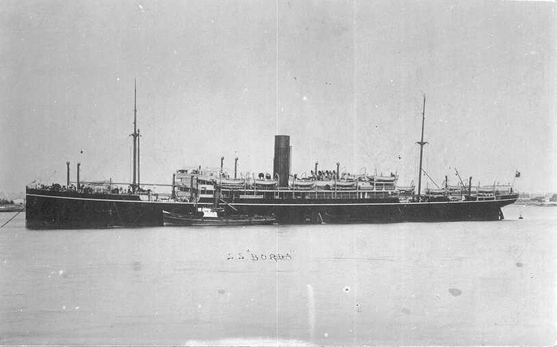 Passenger vessel moored