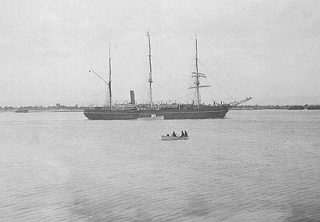 Arriving at Port Adelaide, 1/4/1930, from Antarctic.