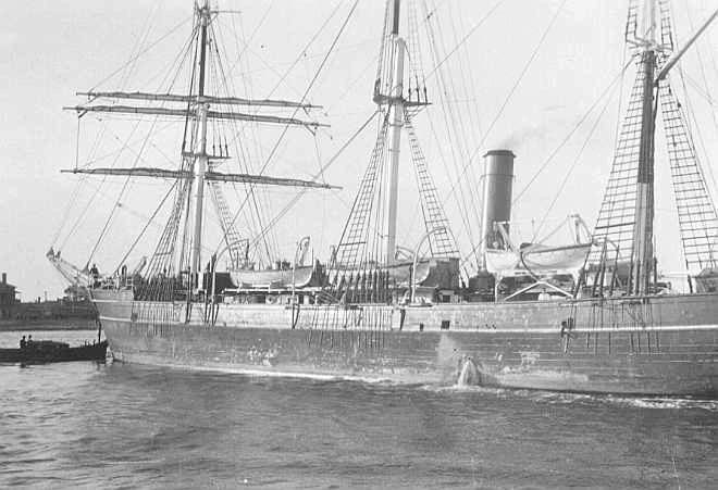 Leaving Port Adelaide for Melbourne, 3/4/1930