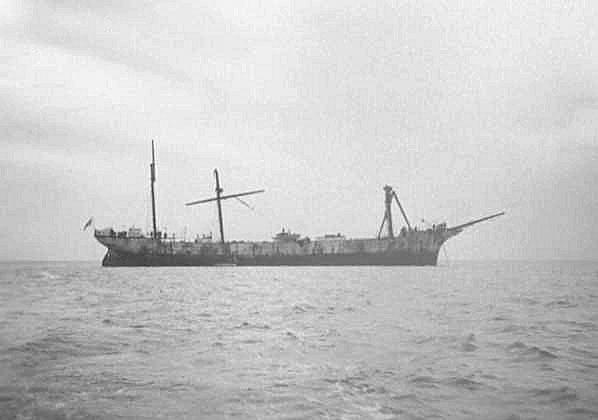 Dismasted 530 miles South West Cape Borda 21 April 1932.  Scrapped when sank at Stenhouse Bay, 8 January 1932(?).
