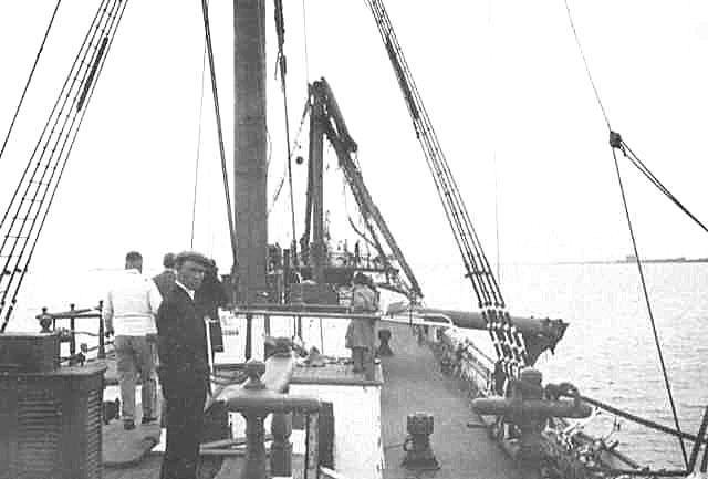 Showing damage on deck, 21/4/1932.