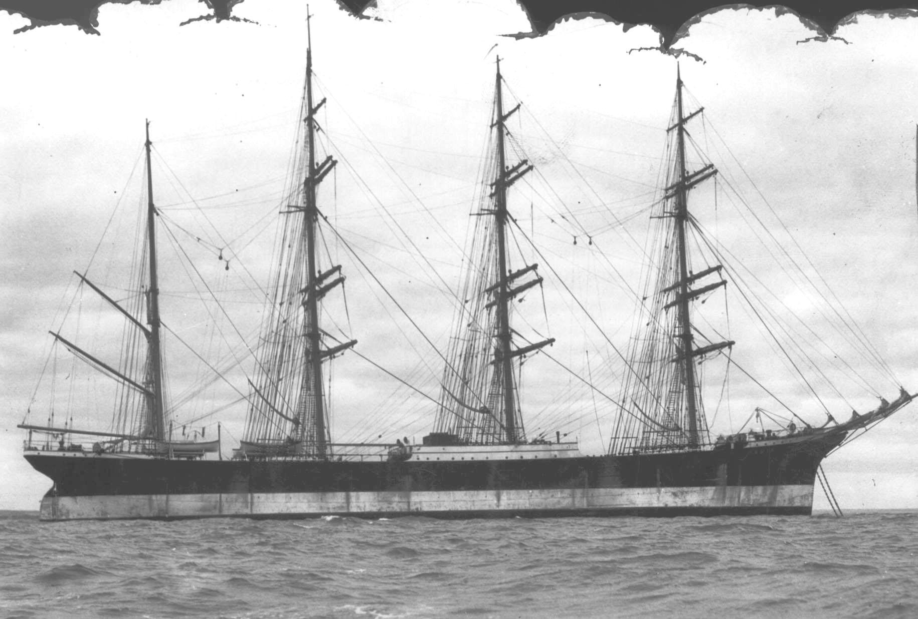 At anchor, Port Victoria, 12/1/1933.