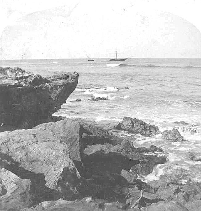 Off Cape Banks, 1890.