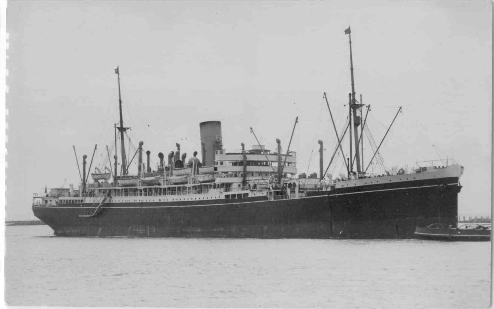 1921 vessel.