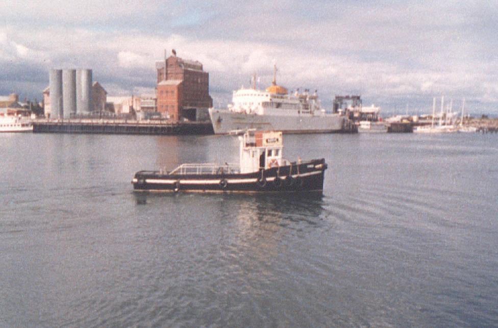 1944 tug at Port Adelaide, 24/9/1985
