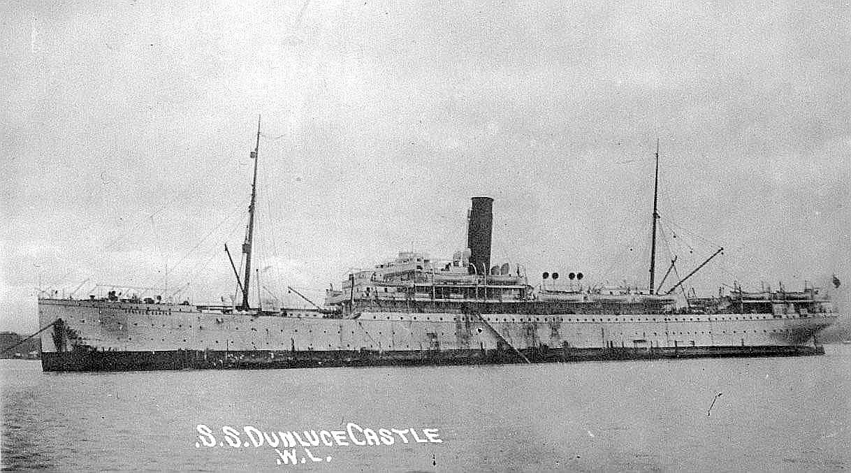 1904 refrigerated vessel at anchor
