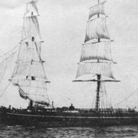 "1876 Ship - another Yankee ""Hell-Ship"" at sea"