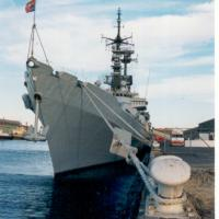 At Port Adelaide berth during 1997 visit.