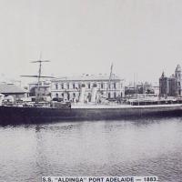 1920 Steamer at Port Adelaide.