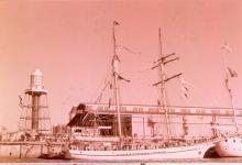 Ketch at Port Adelaide