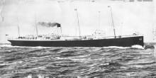 Passenger vessel at sea