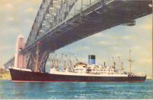 Passenger vessel in Sydney Harbour