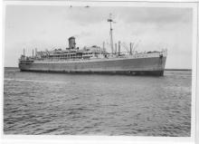 1935 passenger vessel, 22/2/1936.