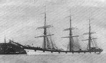 1891 Ship underway