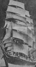 1908 Barque lost at sea in 1938