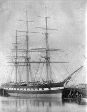 """3 masted Barque, """"Holmsdale""""."""